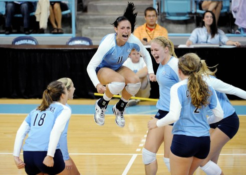 UNC VOLLEYBALL V SAN DIEGO