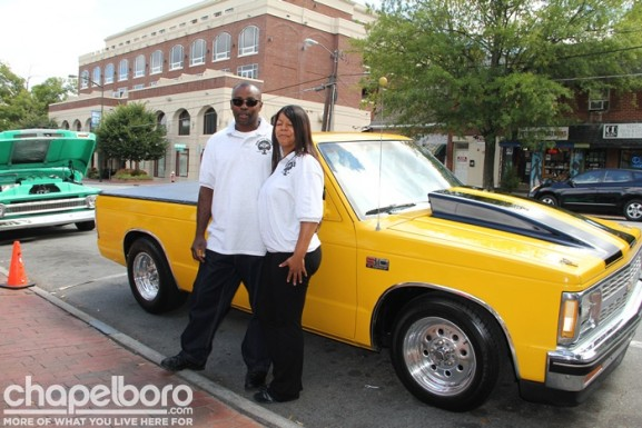 Anthony Pulliam and Wendy Corbett with their 1983 Chevy S10