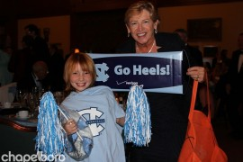 Ashley Burnette and Sylvia Hatchell