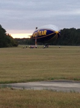 Goodyear Blimp at Horace Williams Airport