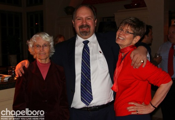 Ellie Kinnard, Randy Voller, Carol Kelly