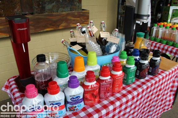 Fabulous SodaStream drinks for available for everyone to sample!