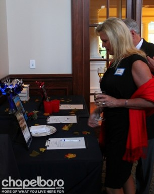 Guests had the opportunity to bid on some fabulous items!