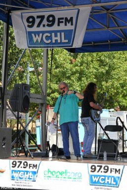 It wouldn't be Festifall with out Ron Stutts and WCHL!