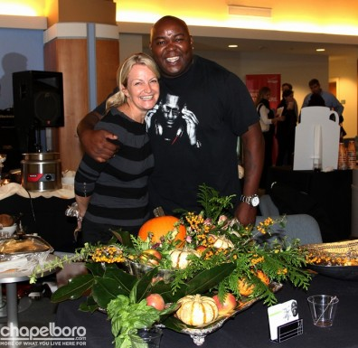 It's always great to see Chris Scott and Jessie Scott with Annie Belle's Catering!