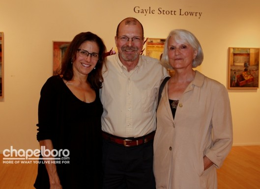 Lisa Wright, Ron Rozzelle and Rosa Patton