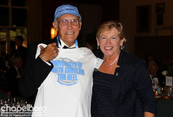 Ray Hutchins, Sylvia Hatchell
