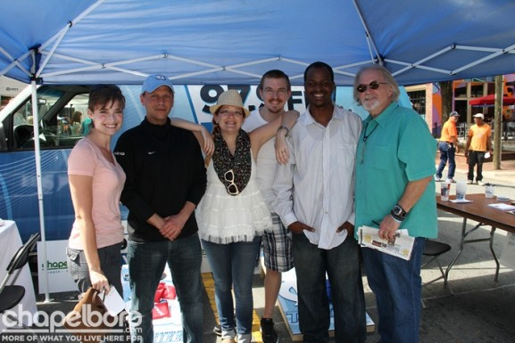 Susan Murray, Kenny Dike, Lauren Stafford, Ran Northam, Anthony Wellman and Ron Stutts-Thanks Barry for the photo!