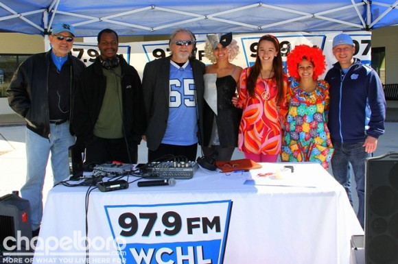 The WCHL crew with our friends from Dance Design- BobLee, Anthony Wellman, Ron Stutts, Christine Brown, Aja White, Haley Tasaico and Kenny Dike