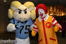 Two of our favorite guys-Rameses and Ronald McDonald!