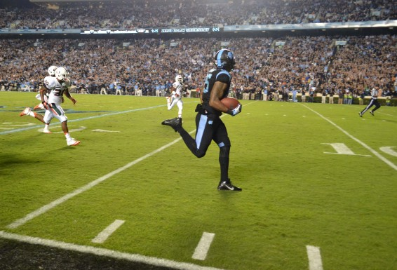 TE Eric Ebron finished the night with 199 yards, including this scoring play.