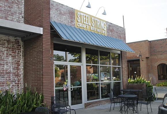 Steel String Brewery in Carrboro might lose its outdoor seating.