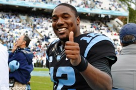 Marquise Williams set a Tar Heel record for most total yards in a game with 469.