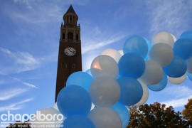 The Bell Tower was dressed-up for Homecoming!