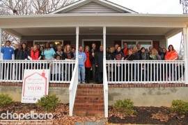 The heardworking team members that made this house a reality!