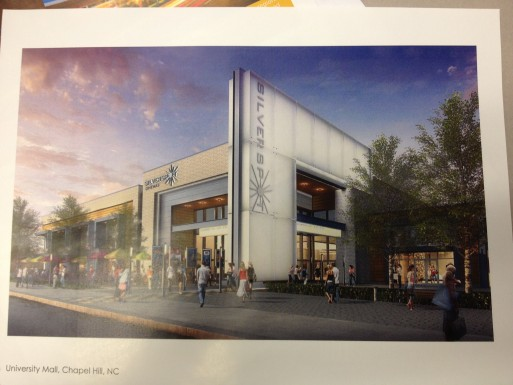 Silverspot Cinema design drawing
