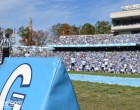 A beautiful day for college football at Kenan Stadium.